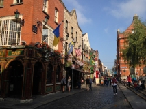 The Quays Bar dans le quartier de Temple Bar
